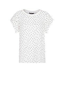 Lightweight polka-dot t-shirt