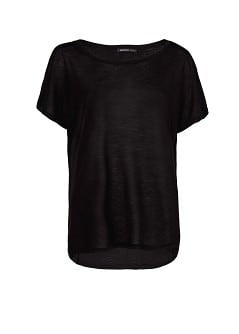 Flowing loose-fit t-shirt
