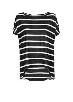 Striped lightweight t-shirt
