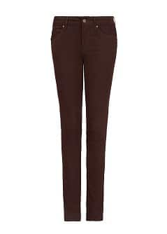 Jean super-slim marron