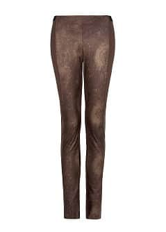 SNAKE PATTERN PANELS LEGGINGS