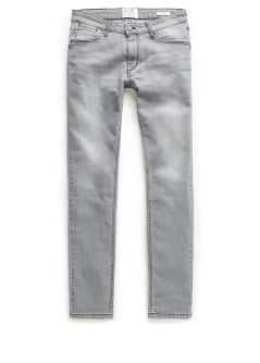 Slim Fit Jeans Alex grau