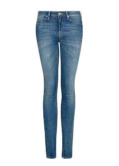 Super slim-fit vintage wash jeans