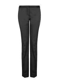 Satin suit trousers