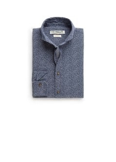 Camisa slim-fit estampado liberty