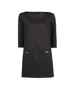 Zip shift dress
