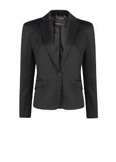 Satin suit blazer