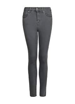 Super high waist grey jeans