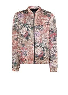 Tapestry bomber jacket