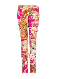 SLIM-FIT PRINTED JERSEY TROUSERS