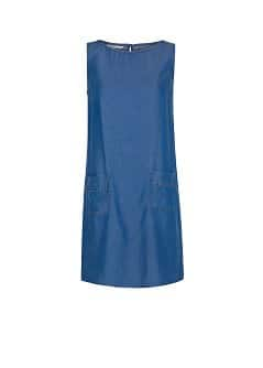 Tencel shift dress