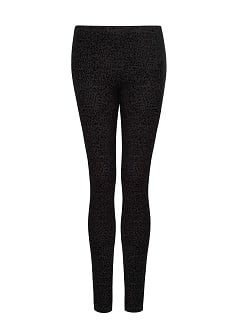 Leggings estampado leopardo terciopelo