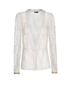 LACE PEPLUM JACKET