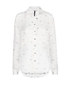 EAGLE PRINT SHEER SHIRT