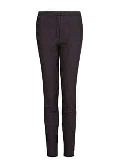 Jacquard slim trousers