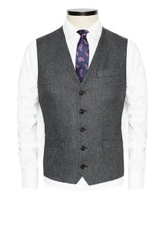 Gilet de costume tweed