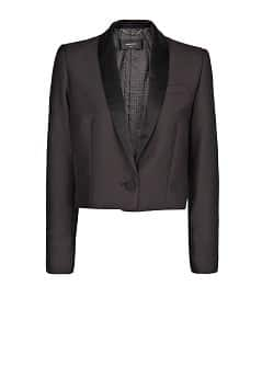 Blazer smoking cropped