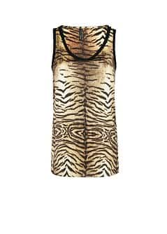 TOP MIT ANIMAL PRINT