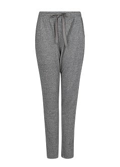 Flecked jogging trousers