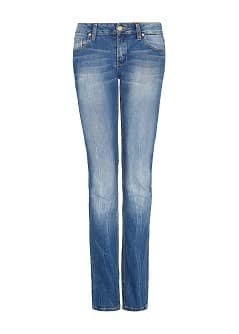 SUPERSKINNY JEANS MET MEDIUM WASSING