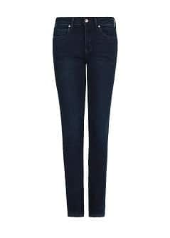 SUPER SLIM-FIT DARK BLUE JEANS