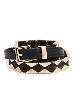METAL TRIANGLES BELT