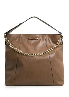 Sac shopper clouté