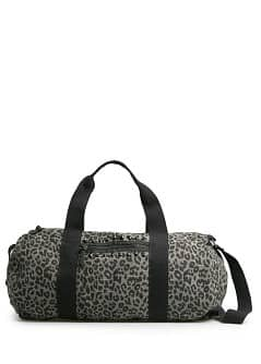 Bolso weekend estampado leopardo