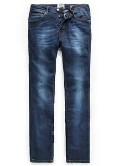 Slim-fit dark wash Tim jeans