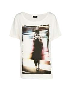 Printed photograph t-shirt