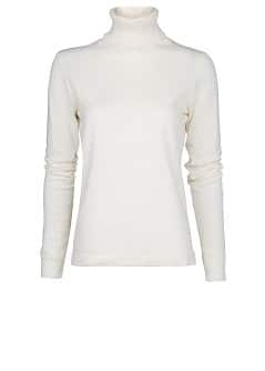 Turtleneck cotton-blend sweater