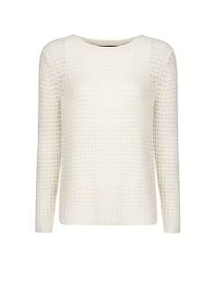 Angora wool-blend sweater