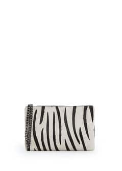 Clutch pèl animal estampat