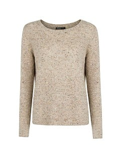 Pull-over laine mini clous