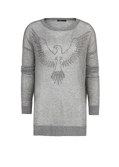 STRASS EAGLE SWEATER