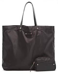 Sac shopper pliable en nylon