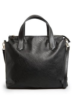 METAL PLATES TOTE BAG