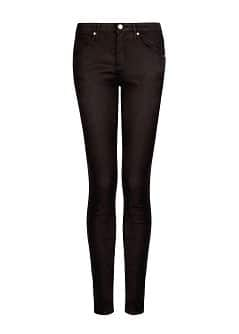 Super slim-fit black jeans