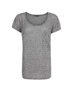 Cotton-blend devoré t-shirt