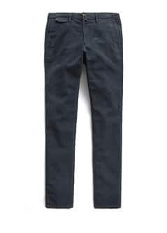 Straight-fit velveteen chinos