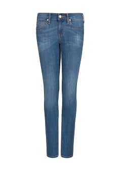 Jeans super slim lavado medio