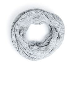 Sequined chunky knit snood