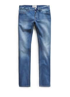 JEANS STEVE SLIM-FIT COLOR TINTA
