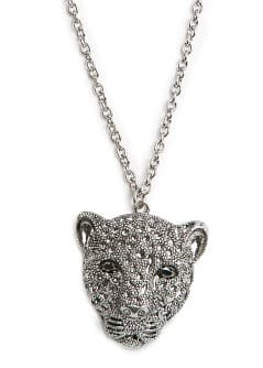 Collier tigre strass