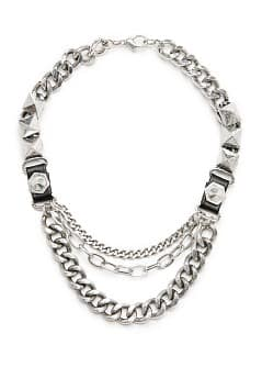 Punk style chain necklace