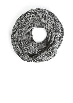 Flecked knit snood