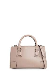 Saffiano-effect tote bag