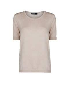 Short sleeved essential sweater