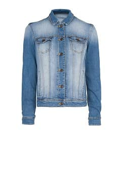 CHAQUETA DENIM LAVADO MEDIO