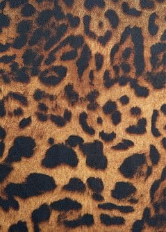 FULAR ESTAMPADO LEOPARDO DEGRADADO